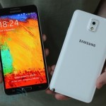 Picture of the Samsung Galaxy Note 3 phone